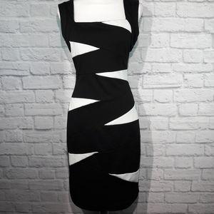 XOXO Black and White dress 7/8